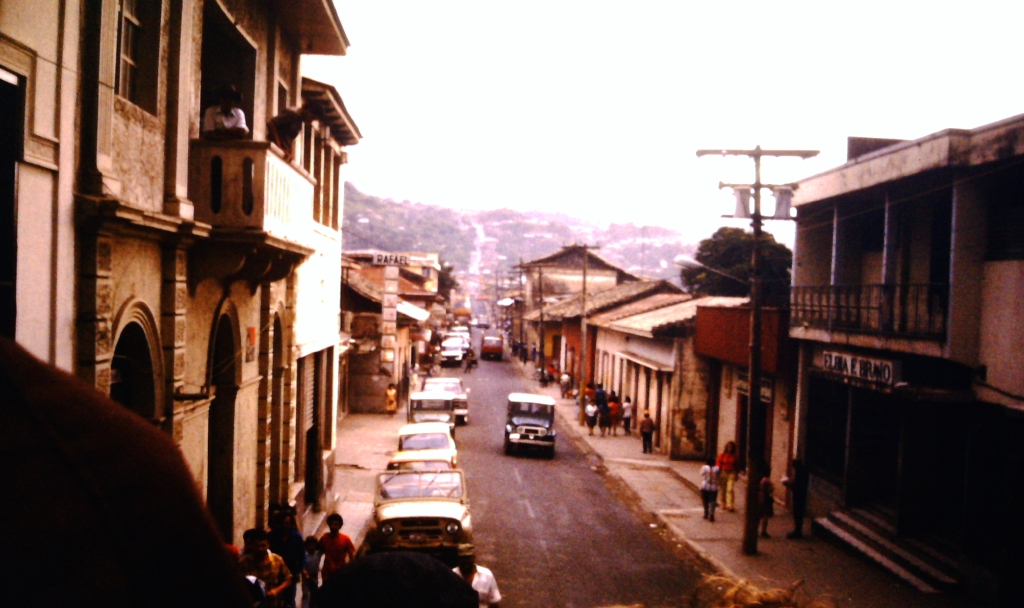 07 - looking down matagalpa street cropped