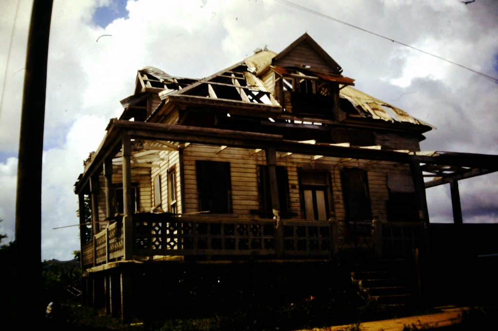 32 - destroyed house